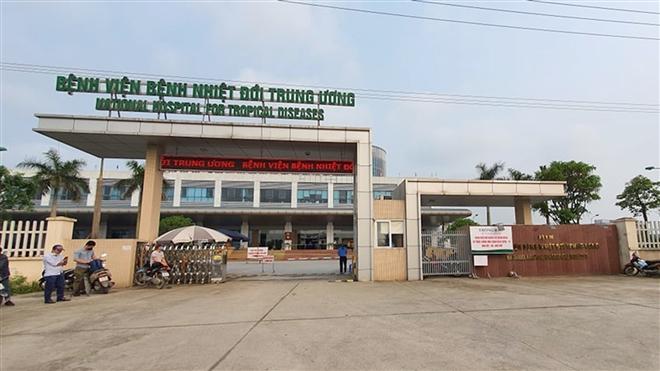 Phong tỏa Bệnh viện Bệnh nhiệt đới Trung ương cơ sở 2 - 1