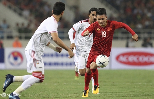 Các trận của đội tuyển Việt Nam được phát sóng miễn phí