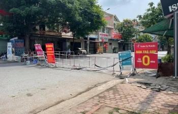 Bắc Ninh cách ly xã hội huyện Yên Phong