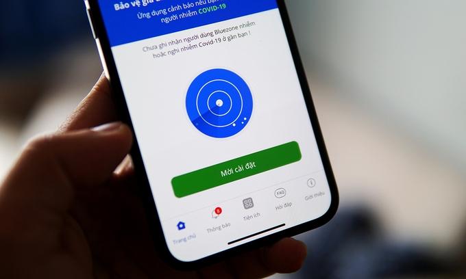 Đề nghị phạt người dùng smartphone không cài Bluezone