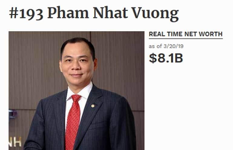 donald trump lam kho huawei cua mo cho ty phu pham nhat vuong
