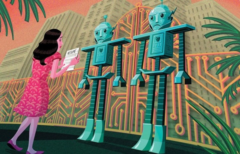robot doc don xin viec va noi toi nen that nghiep thi hon