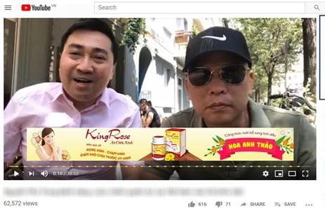 them 40 doanh nghiep o vn quang cao tren video youtube xau doc
