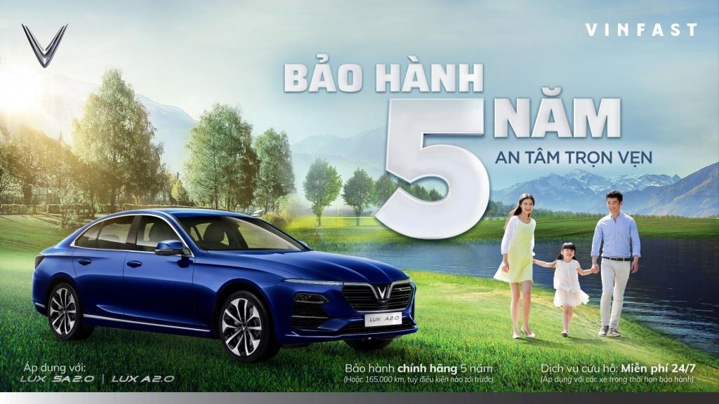 vinfast trien khai chuong trinh truoc ba 0 dong bao hanh 5 nam cho dong xe lux 228056