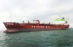 PVTrans Oil nhận bàn giao tàu PVT NEPTUNE tại Singapore