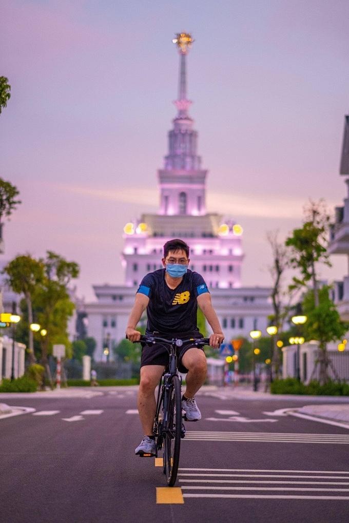 Nhịp sống bình thường giữa dịch bệnh tại đại đô thị 420 ha