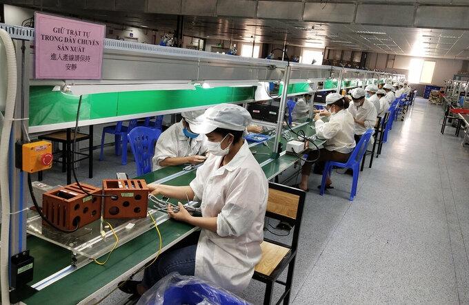Bài toán khi doanh nghiệp tại Bắc Giang khôi phục sản xuất