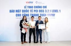 VNPAY đạt chứng chỉ bảo mật quốc tế cấp độ cao nhất