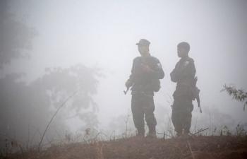 Đụng độ ác liệt ở Myanmar, 25 người thiệt mạng