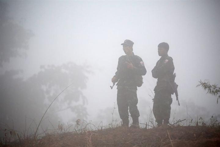 Đụng độ ác liệt ở Myanmar, 25 người thiệt mạng - 1