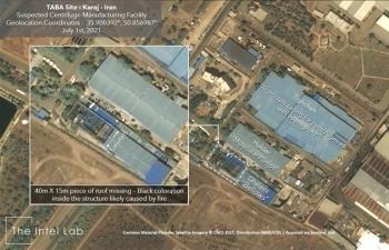 Cơ sở hạt nhân quan trọng bị UAV