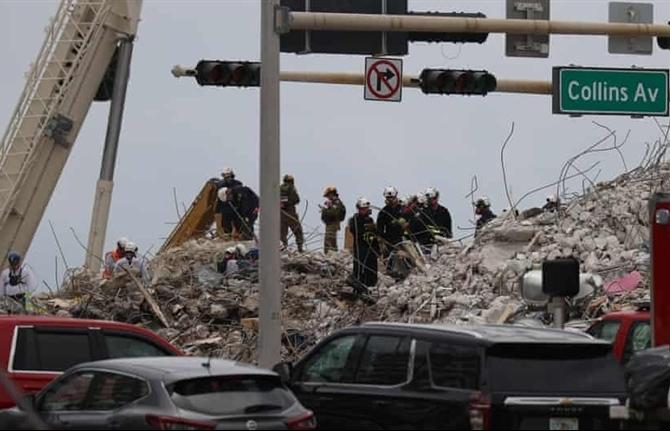 Sập tòa nhà Mỹ: Không còn hy vọng tìm thấy người sống sót