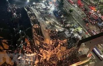 Những nỗ lực cứu hộ trong vụ sập khách sạn tại Giang Tô, Trung Quốc