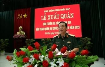 Đội tuyển xe tăng Việt Nam xuất quân sang Nga, chuẩn bị tham gia Army Games 2021