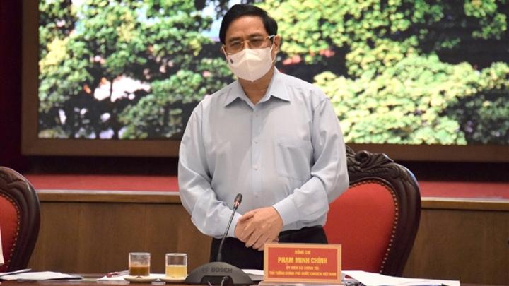 Thủ tướng: Hà Nội phải có kịch bản cao hơn để phòng chống COVID-19 - 1