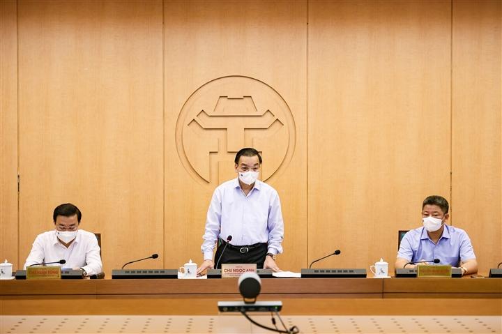 Chủ tịch Hà Nội: Nguy cơ dịch bệnh COVID-19 hiện nay rất cao - 1