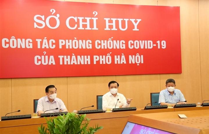 Đề nghị Bộ Tư lệnh Thủ đô phun khử khuẩn diện rộng ở Hà Nội