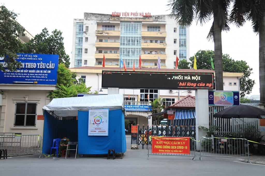 Ổ dịch mới xuất hiện ở bệnh viện phổi Hà Nội