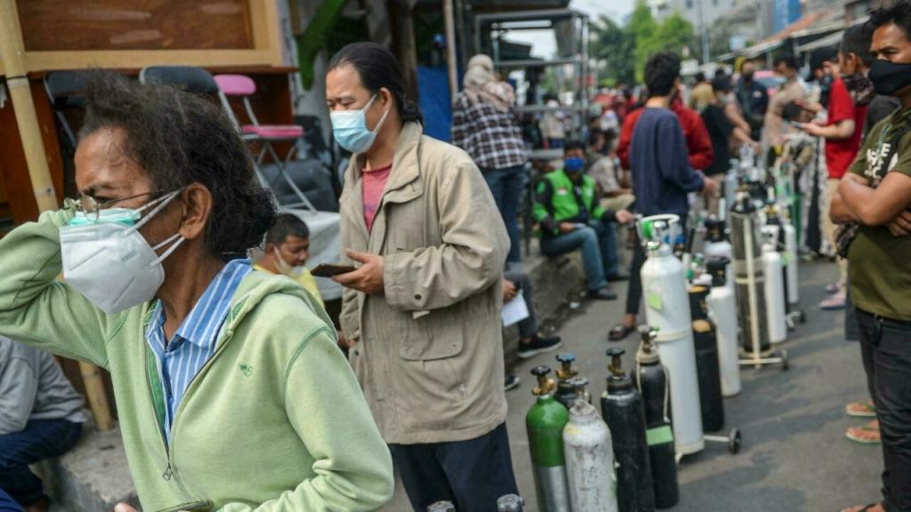 Tình hình Covid-19 của Indonesia trở nên căng thẳng