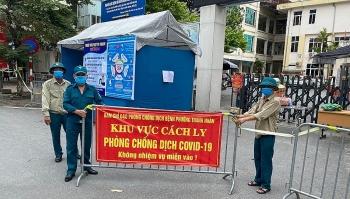 Hà Nội ghi nhận 64 người nhiễm SARS-CoV-2 trong một ngày