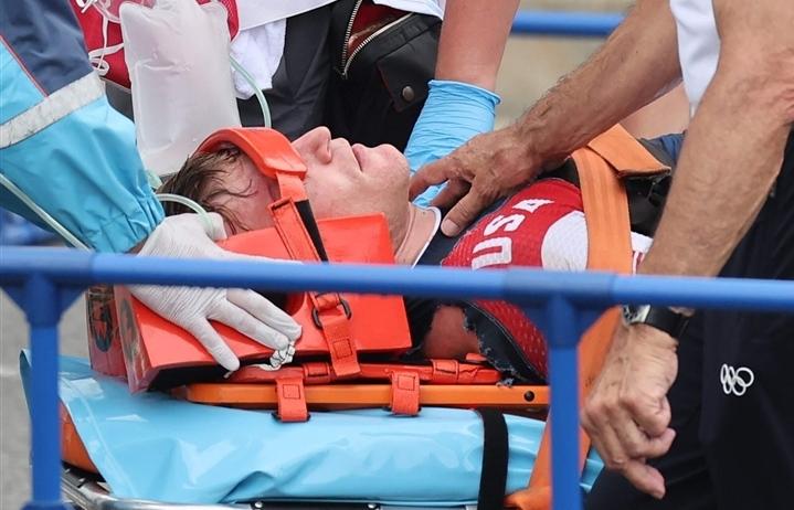 Nhà vô địch Olympic chấn thương nặng trên đường đua xe đạp BMX