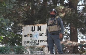 Trụ sở Liên hợp quốc ở Afghanistan bất ngờ bị tấn công, lính gác thiệt mạng