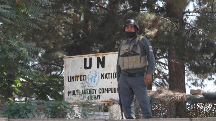 Trụ sở Liên hợp quốc ở Afghanistan bất ngờ bị tấn công, lính gác thiệt mạng - 1