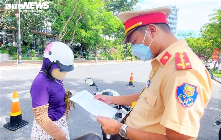 Từ 18h ngày 31/7, người Đà Nẵng ra đường phải có Giấy đi đường đúng mẫu - 1