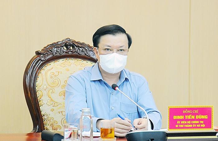 Bí thư Hà Nội: Tuỳ mức độ kiểm soát để quyết định có giãn cách tiếp hay không - 1