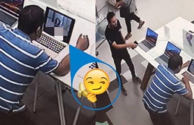 Thái Lan: Vào cửa hàng máy tính, thản nhiên bật phim khiêu dâm xem