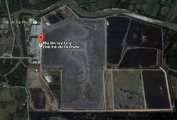 TP HCM yêu cầu kiểm tra mùi hôi ở khu xử lý chất thải Đa Phước
