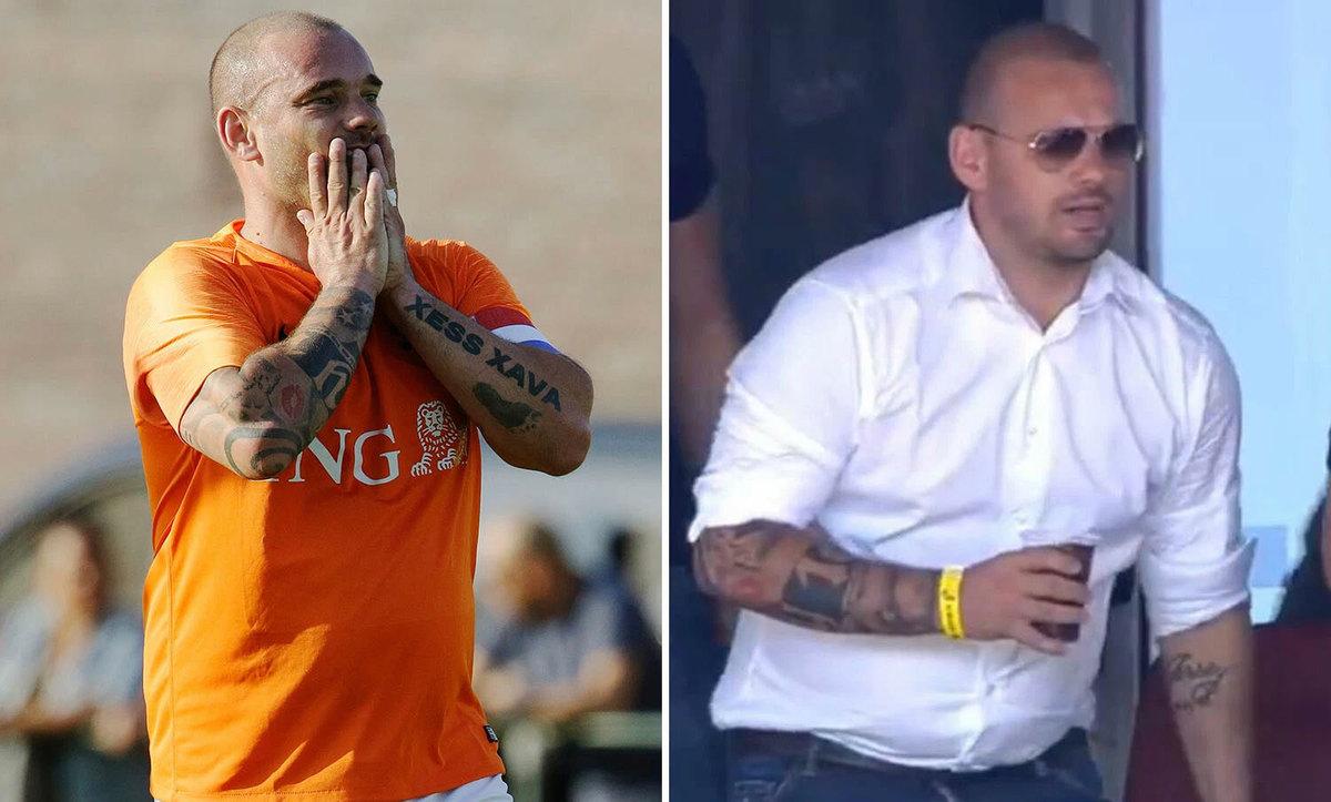 sneijder phat phi hai tuan sau khi giai nghe