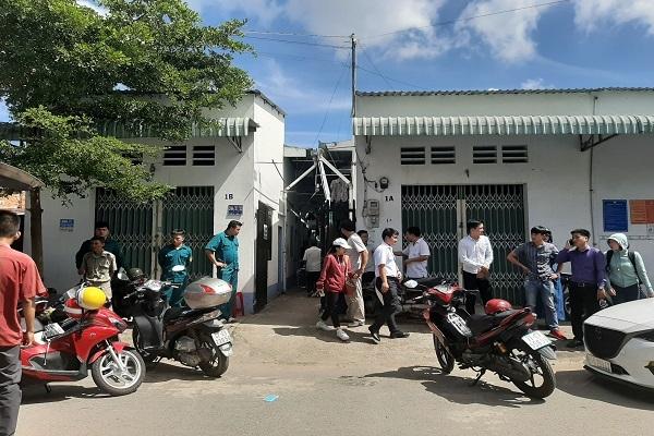 nhan vien bat dong san chet bat thuong trong phong tro o binh duong