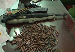 Súng, đạn trong nhà nghi phạm buôn ma túy