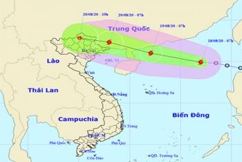 Bão số 4 giật cấp 10 trên Biển Đông, khả năng mạnh thêm