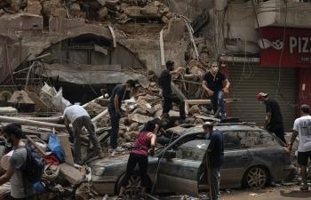 Tòa án Lebanon bắt giữ thêm 2 đối tượng liên quan đến vụ nổ tại Beirut