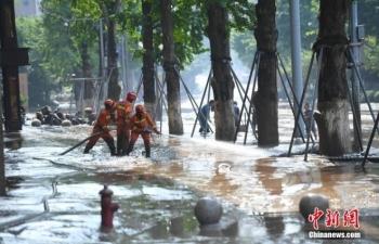 Trung Quốc hứng đợt mưa lớn, sông Hoàng Hà nâng mức cảnh báo