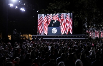 Tổng thống Trump nói gì trong bài phát biểu nhận đề cử ứng viên tổng thống đảng Cộng hòa?