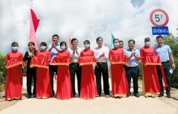 Vietbank tài trợ 5 tỷ đồng xây 6 cầu ở xã biên giới tỉnh Long An