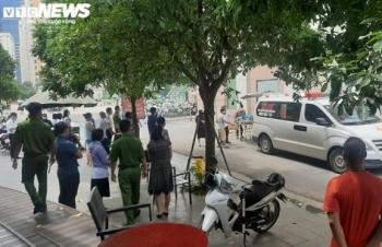 Bé gái 6 tuổi ở Hà Nội rơi từ tầng 12 chung cư xuống đất