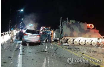 Tai nạn xe quân sự Mỹ tại Hàn Quốc khiến ít nhất 4 người thiệt mạng