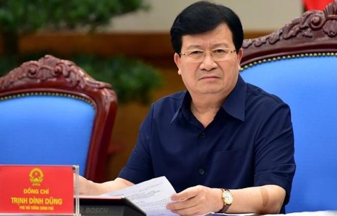 pho thu tuong trinh dinh dung lam chu tich uy ban song mekong viet nam