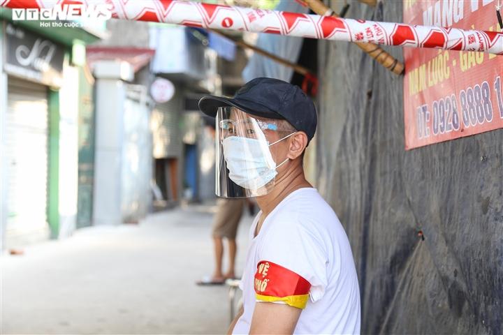 Ảnh: 50 chốt 'vùng xanh' phòng chống COVID-19 đầu tiên tại Hà Nội - 6