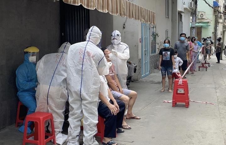 Thêm hơn 600 ca dương tính SARS-CoV-2 ở Đồng Nai và Bà Rịa - Vũng Tàu