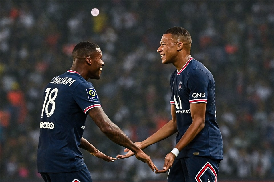 Mbappe đã có một màn trình diễn chói sáng trong vòng 2 Ligue 1