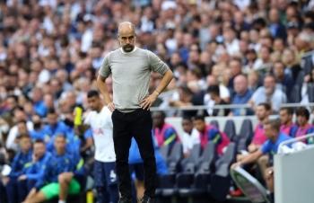 Pep Guardiola lý giải về thất bại trước Tottenham