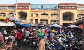 Hà Nội tạm đóng cửa chợ Hà Đông do F0 từng đến mua hàng