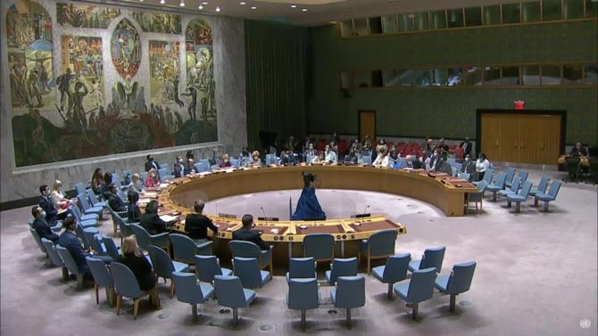 Nga, Trung Quốc bỏ phiếu trắng, LHQ thông qua nghị quyết về Afghanistan - 1