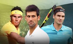 Cuộc đua khốc liệt của Federer, Nadal và Djokovic
