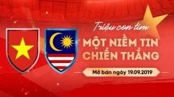 cach mua ve xem viet nam vs malaysia tai vong loai world cup 2022